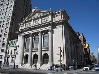 Synagogue in Manhattan, New York