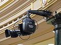 Congreso de los diputados, Salón de Pleno, Cámara de TV, Madrid, España, 2015.JPG
