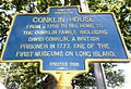 Conklin House Marker.JPG