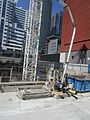 Construction around the old Westinghouse building, at Soho and King, 2017 05 18 -bf (34616348701).jpg