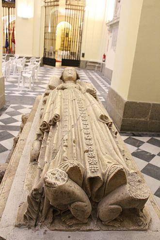 Convento de San Pedro Mártir - A sepulcher