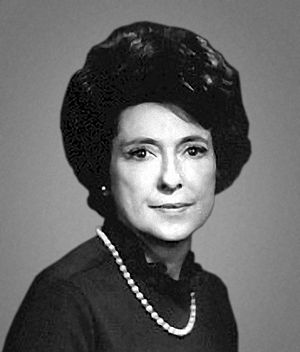 Louisiana Center for Women in Government and Business Hall of Fame - Image: Corinne Lindy Boggs