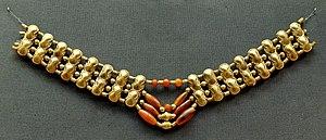 Enkomi - Image: Cornelian necklace BM GR1897.4 1.623