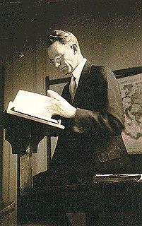 Cornelius Van Til Dutch theologian