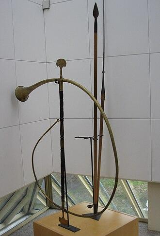 Cornu (horn) - Image: Cornu Aalen