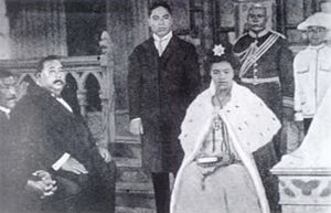 Coronations in Oceania - European-style coronation of Queen Sālote Tupou III, 11 October 1918.