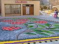 Corpus Christi flower carpet in Tamarite 2006-030.jpg