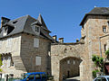 Corrèze - Porte Margot, côté de l'église.JPG