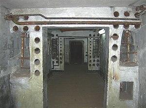 Plokštinė missile base - Corridor inside Plokštinė missile base