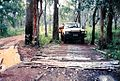 Corrugated road in wet season. CYP 1990.jpg