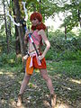 Cosplayer of Oerba Dia Vanille from Final Fantasy XIII 20131013.jpg