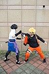 Cosplayers of Sasuke Uchiha and Naruto Uzumaki at CWT39 20150228c.jpg