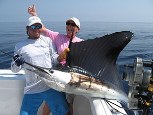 Salt Water Sportsman - Image: Costa Rica Fishing at Los Suenos and Jaco Beach