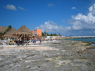 Costa Maya tourist region in Quintana Roo, Mexico