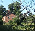 Cottage and hoary chestnut tree, Waldringfield Heath - geograph.org.uk - 894585.jpg