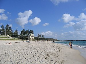 Cottesloe, Western Australia - View of Cottesloe Beach in summer 2007