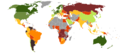 Countries by Standard & Poor's Foreign Rating.png