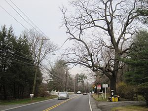 Coxs Corner, Mercer County, New Jersey - At the intersection of US 206 and the Keith line