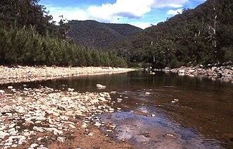 Coxs River - Coxs River near Mount Cookem