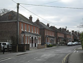 Southgate, West Sussex - Victorian houses in Malthouse Road