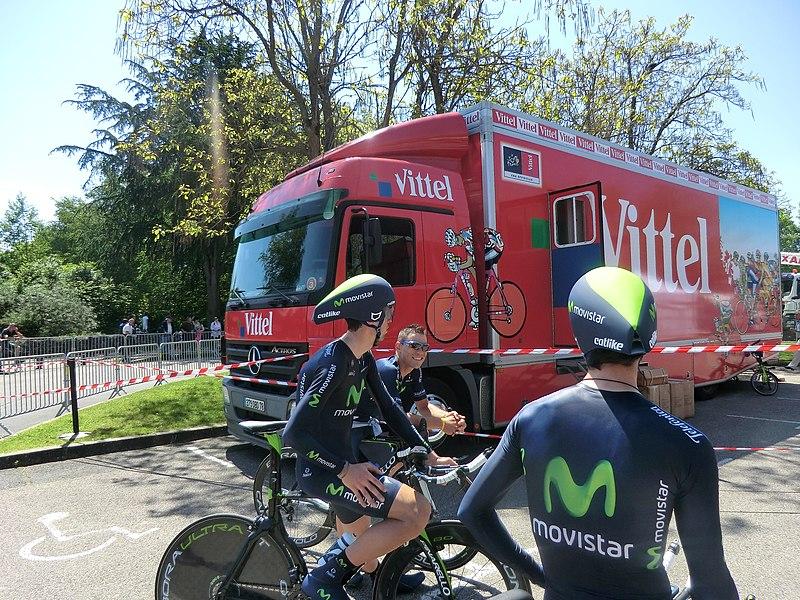 Critérium du Dauphiné 2013: quatrième étape en contre-la-montre à Villars-les-Dombes. Arrivée au Parc des oiseaux.