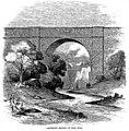 Croton Aqueduct - Harper's 1860 - Aqueduct bridge at Sing Sing.jpg