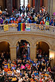 Crowd in the Minnesota captiol for the same sex marriage vote in the Minnesota Senate.jpg