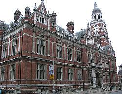 Croydon's Victorian Town Hall and Clocktower