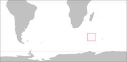 Mapo de Krozet-Insuloj
