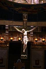 crucifix d'ivoire de Montserrat