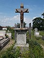 Csákány-Buckó Crucifix in the Old Cemetery, Gyömrő, Pest County, Hungary.jpg
