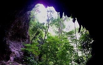 Cueva de la Quebrada del Toro - Image: Cueva (2)