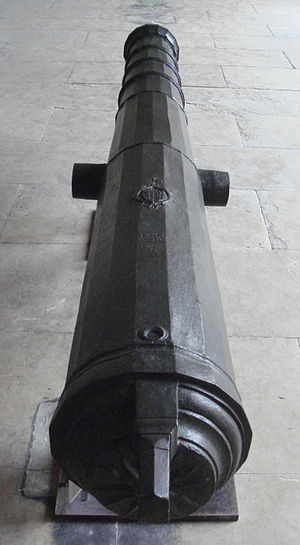 Philippe Villiers de L'Isle-Adam - Image: Culverine of Philippe Villiers de l Isle Adam 1525 1530 Rhodes 140mm 339cm 2533kg iron ball 10kg Abdul Aziz to NIII 1862