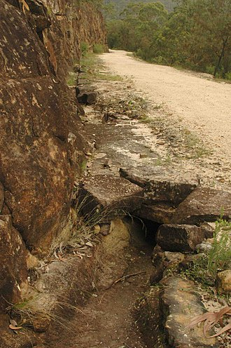 Great North Road (New South Wales) - Image: Culvert