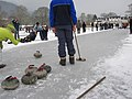 Curling on Lake of Menteith - geograph.org.uk - 1756810.jpg
