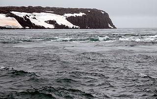 fjord in Svalbard
