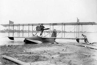 Curtiss HS - An HS-1 in 1917.