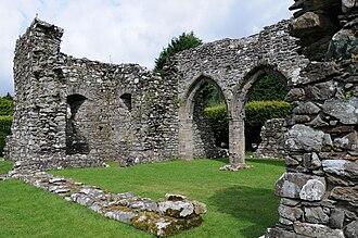 Dolgellau - Cymer Abbey