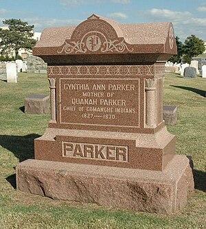 Cynthia Ann Parker - Cynthia's grave