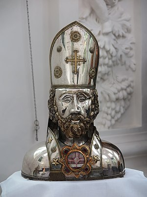 Cyprian - Relic of Cyprian in Kornelimünster Abbey