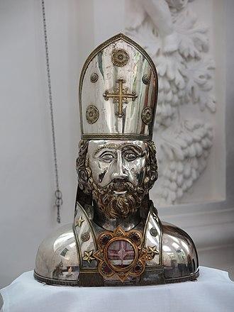Cyprian - Relic of Cyprian in Kornelimünster Abbey