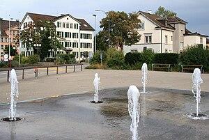 Dübendorf - Image: Dübendorf Gemeindeverwaltung Stadthaus (alt) IMG 1048 Shift N