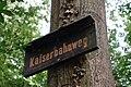 DSC06176 Kaiserbahnweg Schild Niedwald.jpg