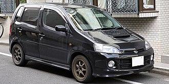 Daihatsu YRV - Daihatsu YRV Turbo