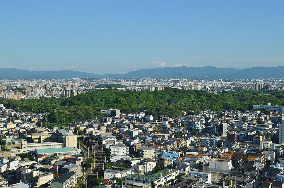 Daisenryo Kofun zenkei-2