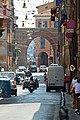 Dall'antica Strata Maior (Strada Maggiore) alla via Aemilia (oggi via Mazzini) attraverso Porta Maggiore - panoramio.jpg