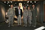 Dan Sullivan, United States senator, Alaska visits JBER 150410-F-YH552-001.jpg