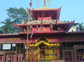 Dharan, Nepal - Dantakali temple, Dharan