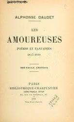Les Amoureuses ; Poèmes et Fantaisie