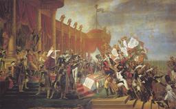David - Le Serment de l'armee fait a l'Empereur